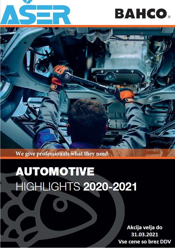 Bahco akcija avto 2020-2021